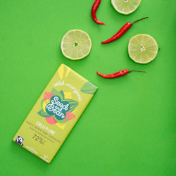 Chilli & Lime Extra Dark Chocolate - by Seed & Bean