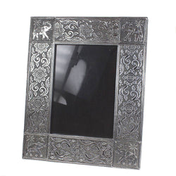 ALUMINIUM ELEPHANT PHOTO FRAME