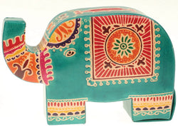 GREEN ELEPHANT MONEYBOX