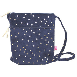 NAVY STARS CROSS BODY BAG - by Lua