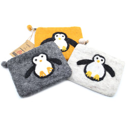 PENGUIN FELT COIN PURSE