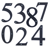 ECO SINGLE HOUSE NUMBERS MADE IN THE UK - by ashortwalk