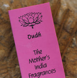TRADITIONAL INCENSE LONG STICKS - by the Mother's India Fragrances