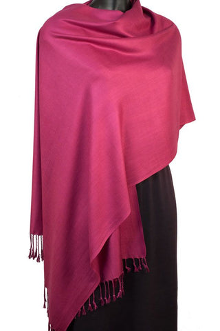 LARGE VISCOSE PASHMINA - by York Scarves