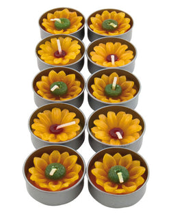 SUNFLOWER TEALIGHTS