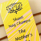 TRADITIONAL INCENSE MINI STICKS - by the Mother's India Fragrances