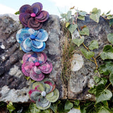 TWEED FLOWER CORSAGE - by Earth Squared
