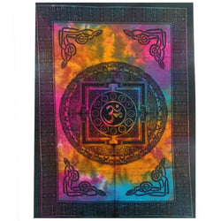 SACRED OM COTTON WALL HANGING