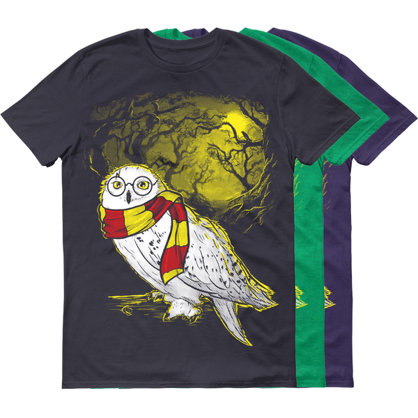 Hedwig Cosplay Tee - White Rock Clothing T-Shirt - t-shirt
