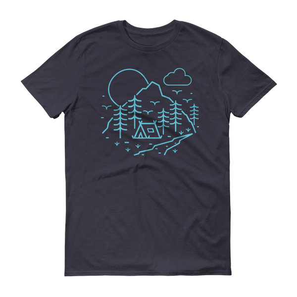 Summer Camp T-Shirt - Navy