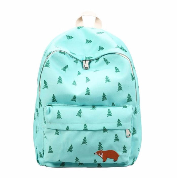 Forest Backpack - White Rock Clothing Bags - t-shirt