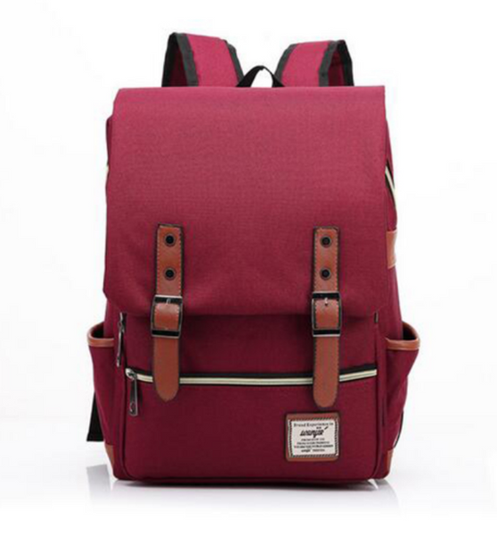 Travel Backpack - Red