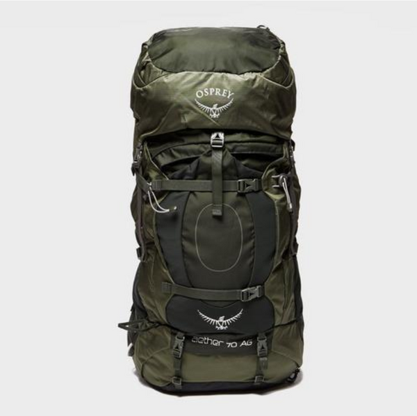 Osprey Packs - Aether Ag 60 Backpack - Adriondack Green