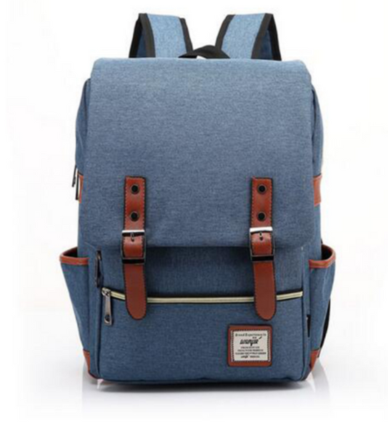 Travel Backpack - Light Blue