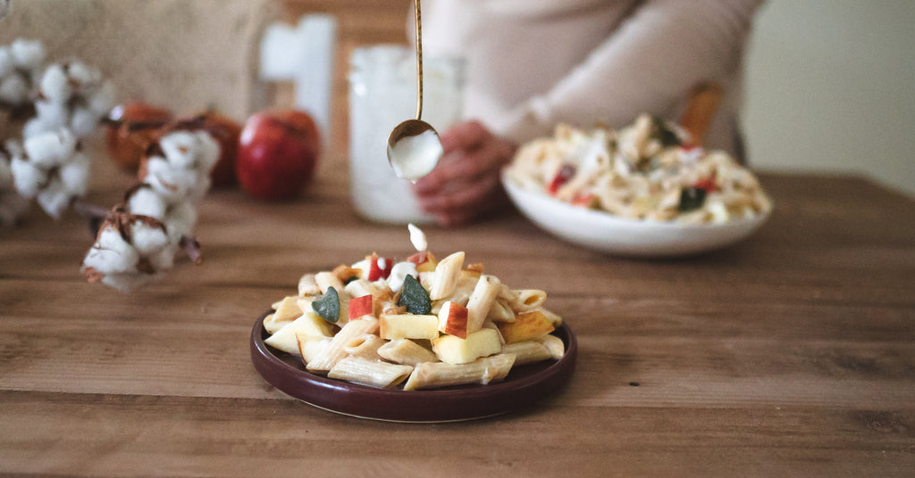Autumn Apple Pasta Salad