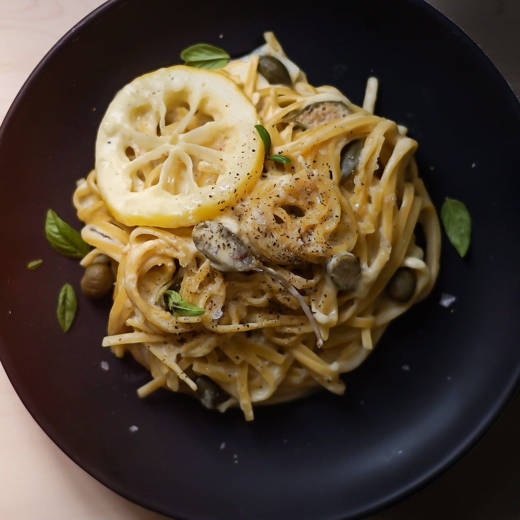 One-Pot Creamy White Wine Linguine