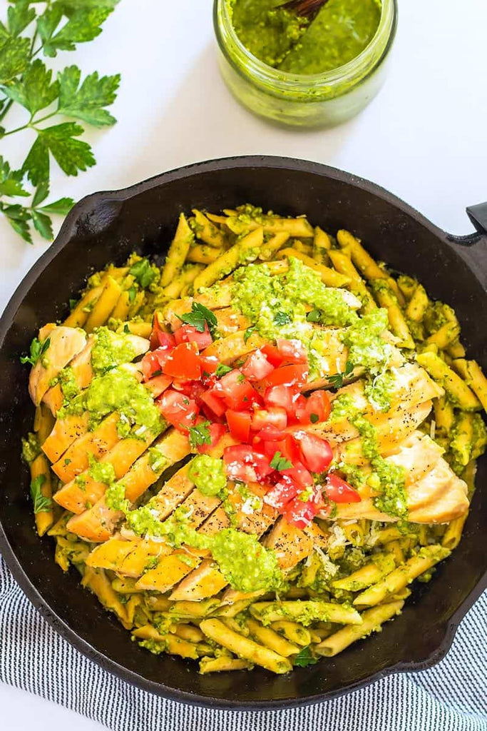 Pesto Chicken Pasta Recipe