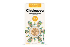 Chickapea Organic Chickpea Lentil Shells & White Cheese (6 pack)