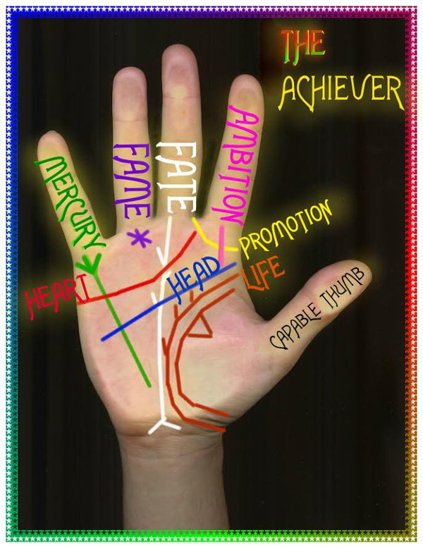 Palm Signs of an Achiever