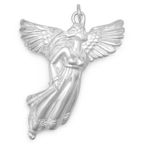 Angel Pendant~ Sterling Silver