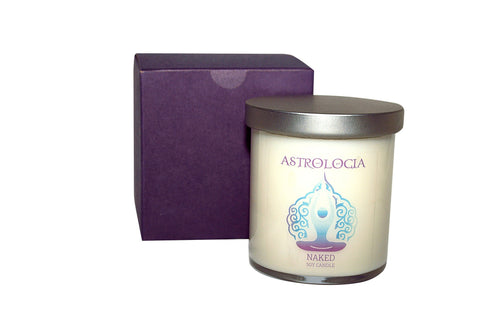 Astrologia NAKED Soy Candle 8 oz with Gift Box