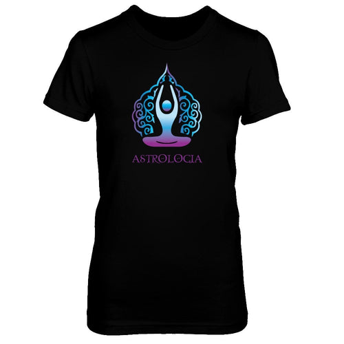 Astrologia Logo Boyfriend Tee Purple Blue