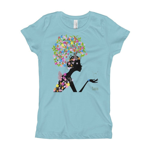 Taurean Goddess Youth Girl's T-Shirt
