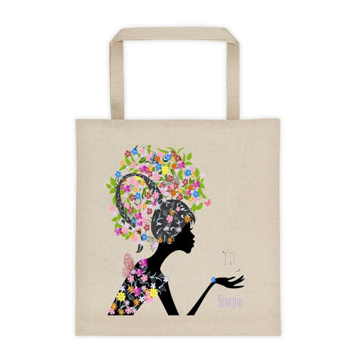 Scorpian Goddess Tote bag
