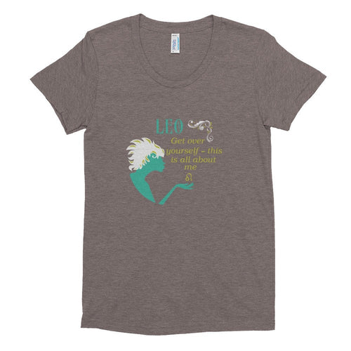 Leo- All About Me- Women's short sleeve soft t-shirt
