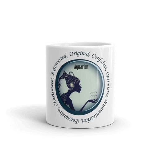 Aquarius Girl- Mug