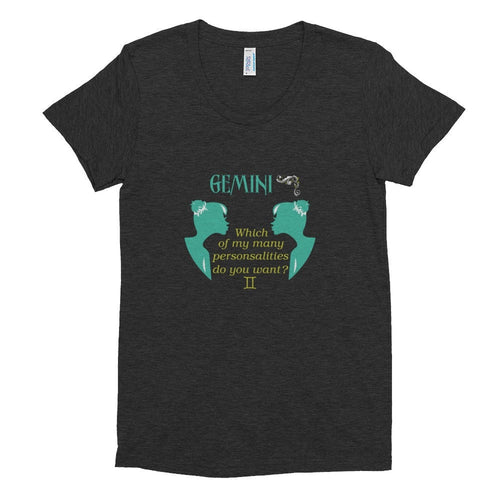 Gemini - Which Personality- Women's short sleeve soft t-shirt