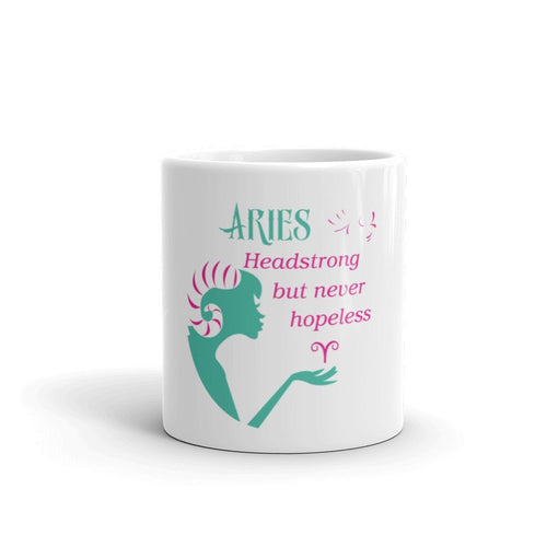 Aries Headstrong Mug