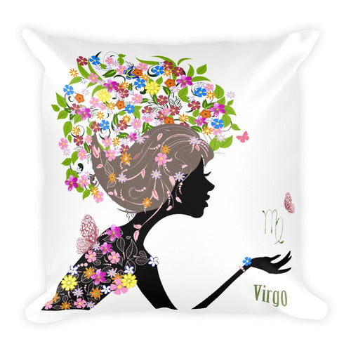 Virgin Goddess Square Pillow