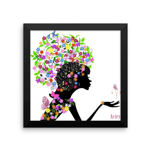 Aries Goddess Framed poster (matte)