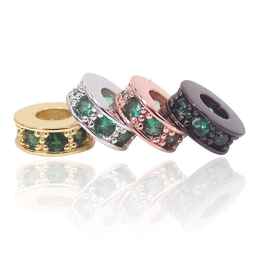 Emerald Small Spacers Mix