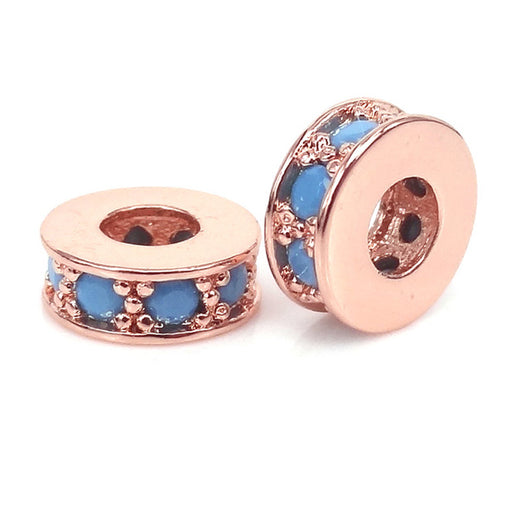 Rose Blue Small Spacers