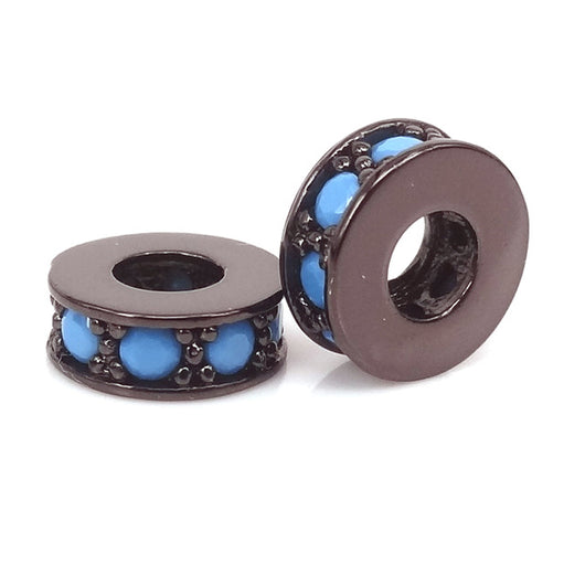 Black Blue Small Spacers