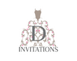 Queen D Invitations