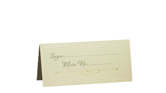 M14 - Place card