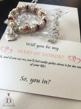 W001 - Made of Honor Invitation