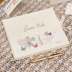 G007 'With Love' Guest Book