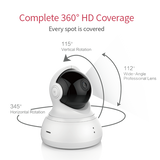 YI Dome Security Camera 2pc