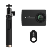 YI 4K Action Camera with Selfie Stick + Bluetooth Remote