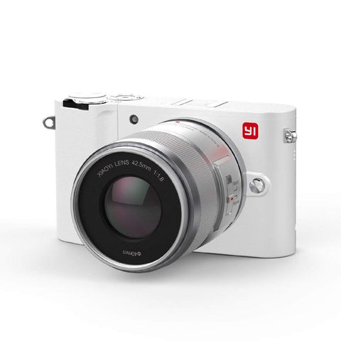 YI M1 Mirrorless Digital Camera Pearl White