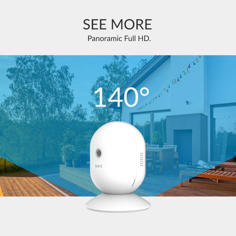 Kami 1080P Wire-Free Home Camera Kit