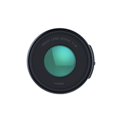 YI 42.5mm F1.8 Lens with Macro Mode for M1 Mirrorless Camera
