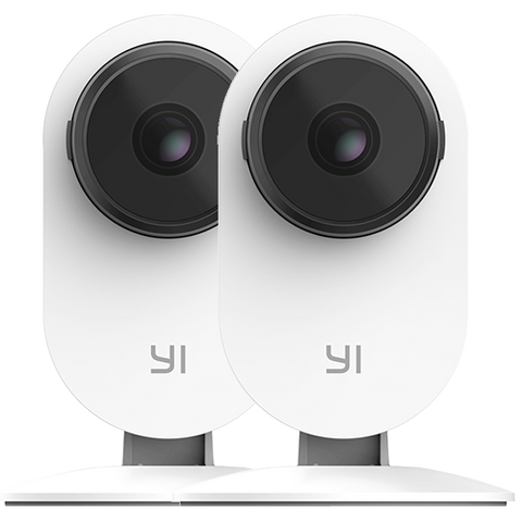YI 2pc Smart Home Camera 3 Set