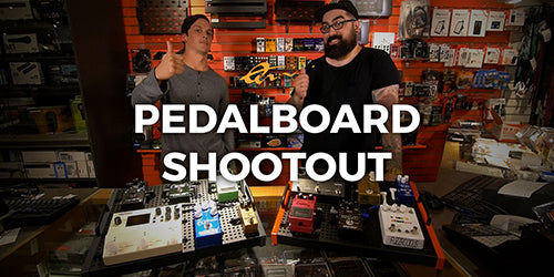 New Video: Pedalboard Shootout!