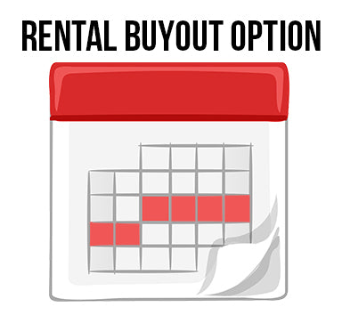 Buy-out Options – Purchase you rented instrument within the first 5 months and we will apply 100% of your rental payments towards the purchase price. Purchase after 5 months and we will apply 50% of up to two years of rental payments towards purchase.