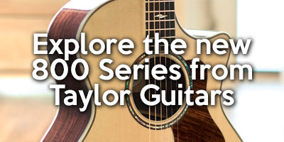 Shop and browse the new 800 series of acoustic guitars from Taylor Guitars. Models in-stock include the 810e, 814ce and 812ce-12 Fret.